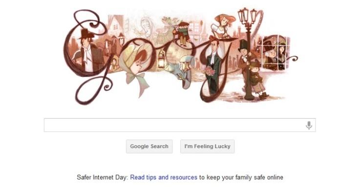 Charles Dickens En El Doodle De Google Le Nous Cultura