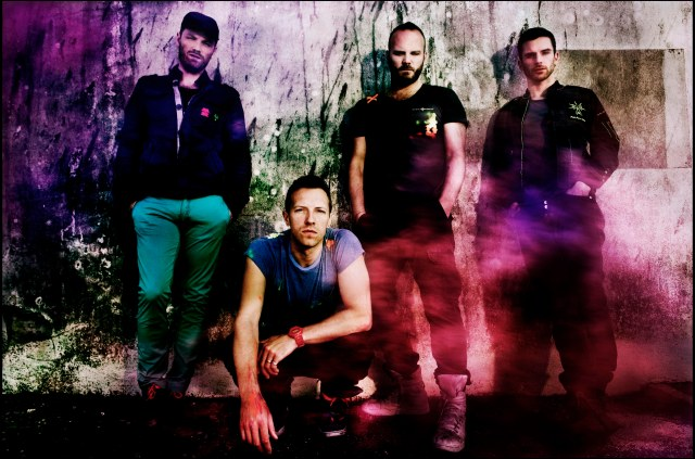 Coldplay, part of the Paralympic Games Closing Ceremony
