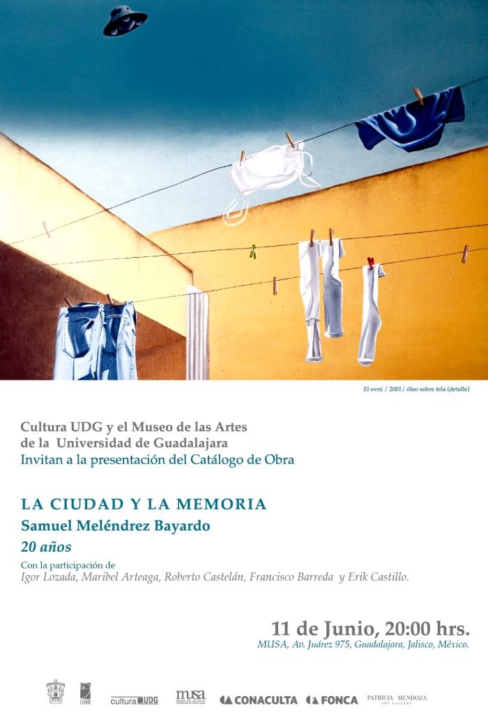 Invitación Samuel Meléndrez