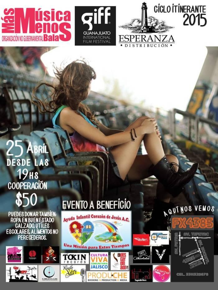 flyer cine evento 1 ciclo itinerante