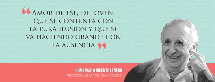Homenaje a Vicente Leñero