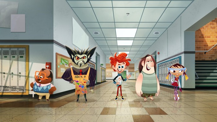 "PENN ZERO: PART-TIME HERO - ""Penn Zero: Part-Time Hero,"" an animated comedy adventure series about Penn Zero, a regular boy who inherits the not-so-regular job of part-time hero, is set for a simulcast premiere FRIDAY, FEBRUARY 13 (9:45 p.m., ET/PT) on Disney XD and Disney Channel, with three additional episodes premiering over the holiday weekend on Disney XD. (Disney XD) LARRY, RIPPEN, PENN, BOONE, SASHI"